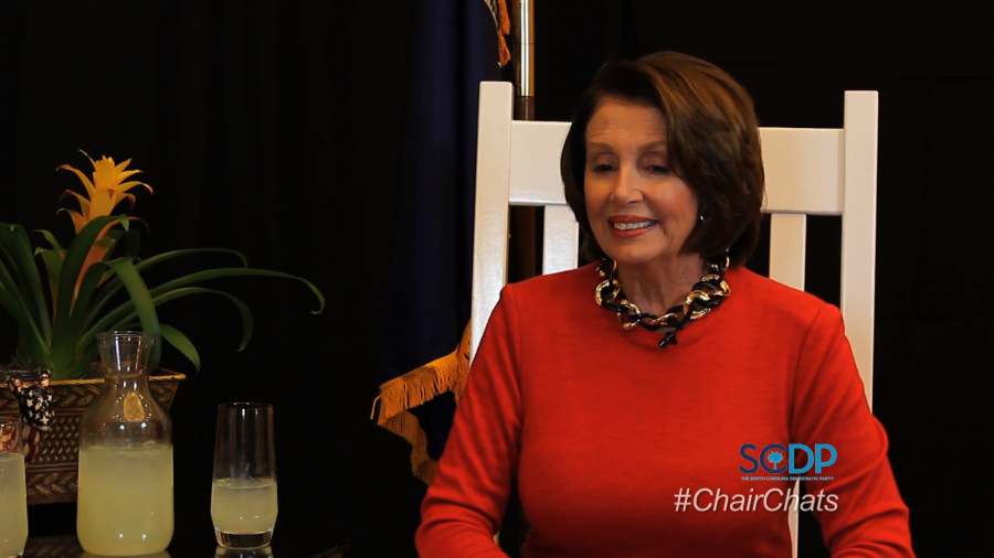 Chair Chats Nancy Pelosi